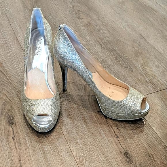 Michael Kors sparkling heels